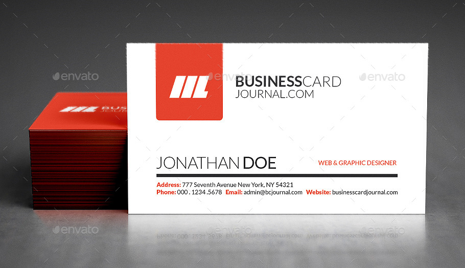 Photo realistic business card mockups by deuskaos graphicriver 11g reheart Image collections