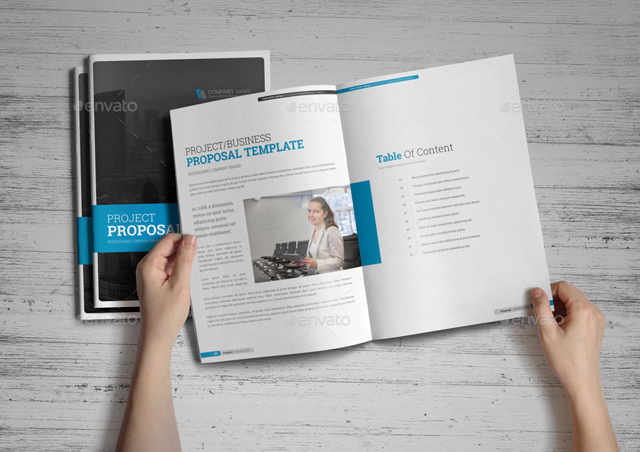 Project Business Proposal Design V4 By Jbn Comilla Graphicriver