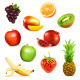 Fruits Vector Icons - GraphicRiver Item for Sale