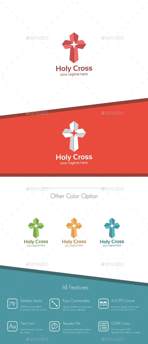Holy Cross Logo - Symbols Logo Templates