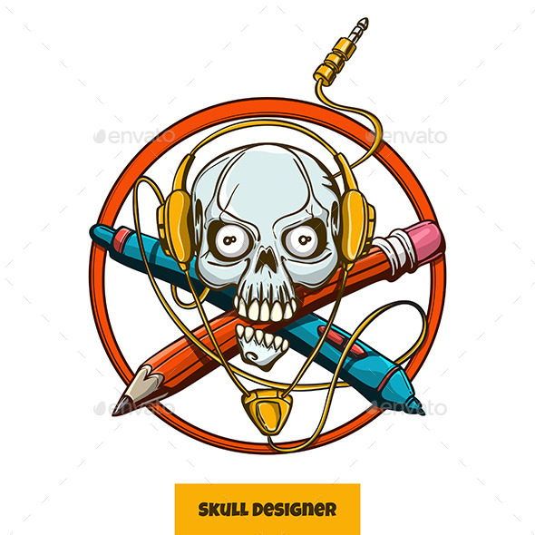 Skull Designer - Decorative Symbols Decorative
