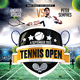 Tennis Open Flyer / Poster Template - GraphicRiver Item for Sale