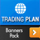 Trading Plan Banners Pack - GraphicRiver Item for Sale