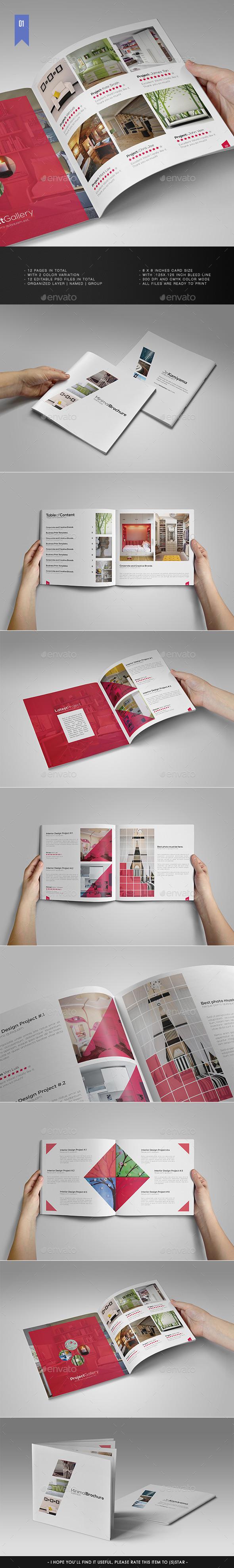 Square Minimal Brochure V.1 - Portfolio Brochures