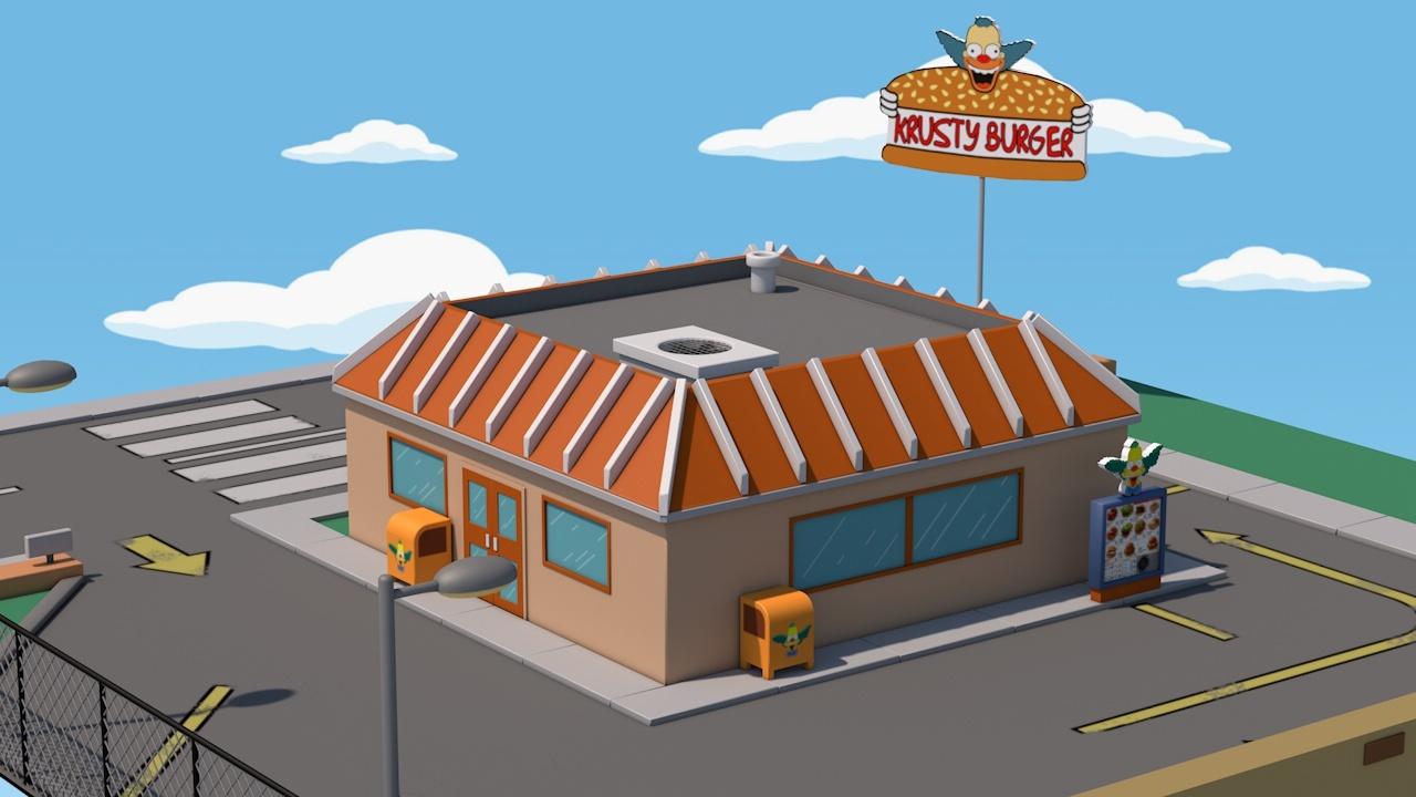 Krusty Burger By Lebedevartem 3docean