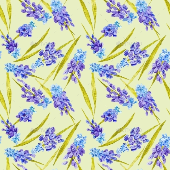 Provence Floral Motif Texture - Backgrounds Decorative