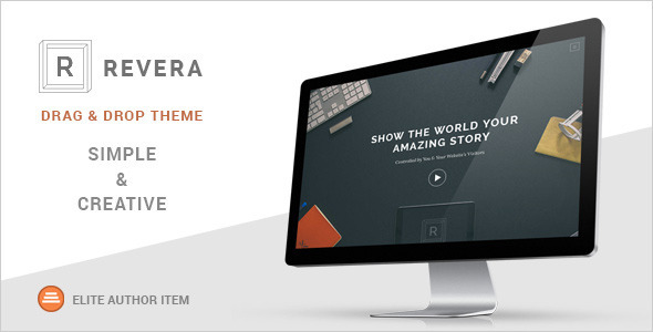 Revera – Simple and Creative Portfolio WP Theme