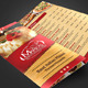 Trifold Pizzeria Menu Template - GraphicRiver Item for Sale