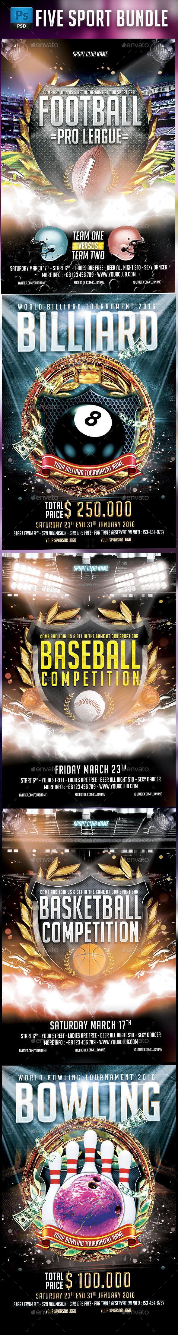 Sport Bundle - Sports Events