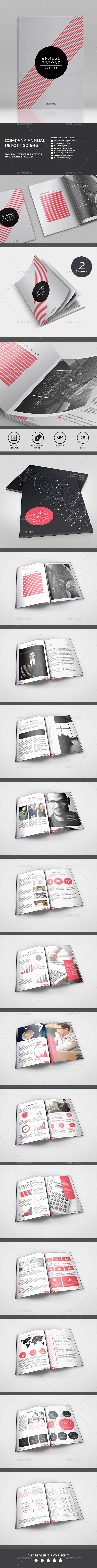 Annual Report - Brochures Print Templates