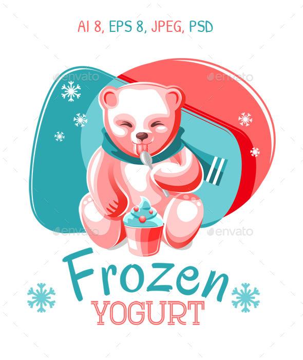 Frozen Yogurt - Animals Characters