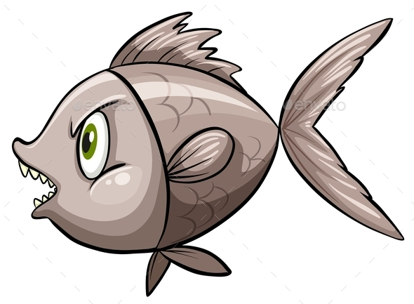 A Fish in Deep Water - Animals Characters