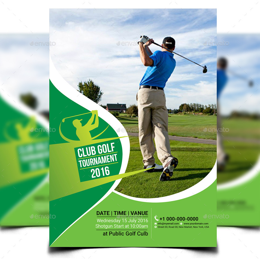 Marvelous Golf Tournament Flyer Template   Sports Events · Screenshot_1 ...