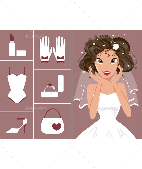 Bride and Wedding Accessories - Weddings Seasons/Holidays