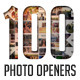 100 Clean Photo Openers - Logo Reveal Pack - VideoHive Item for Sale