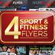 Sport & Fitness Flyer Bundle - GraphicRiver Item for Sale