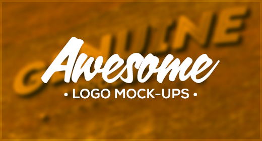 Awesome Logo Mockups