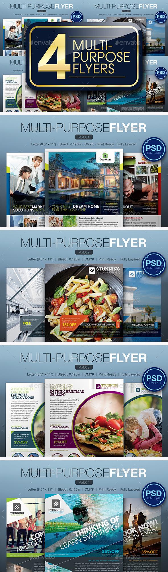 Multipurpose Flyer Bundle - Miscellaneous Events