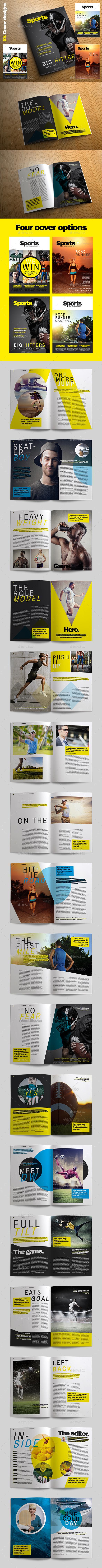 Sports Magazine - Magazines Print Templates