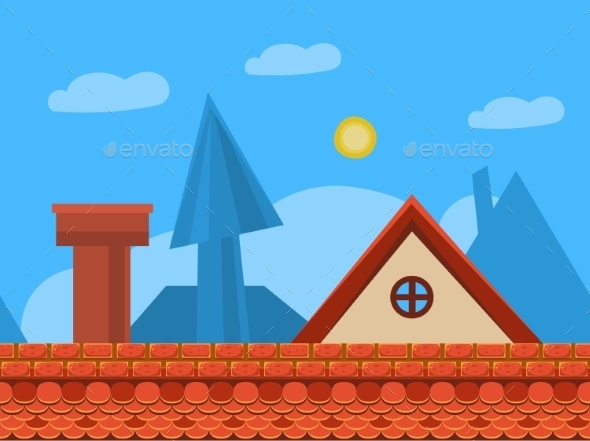 Seamless Game Background - Backgrounds Decorative