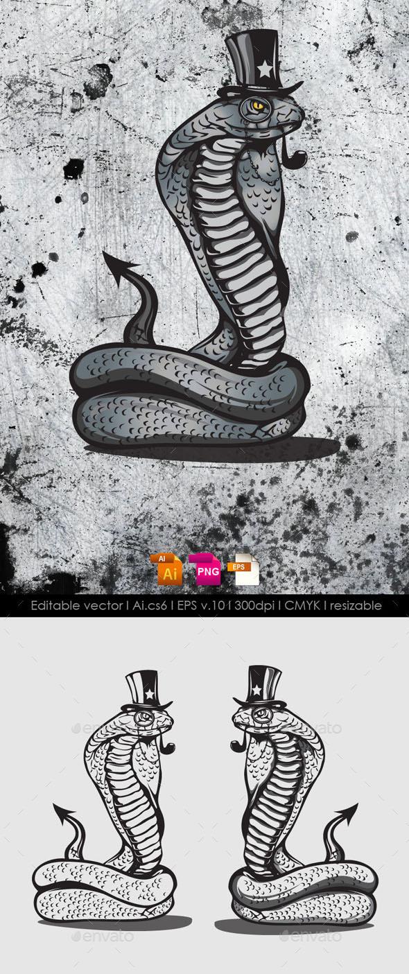 Snake Mascot - Animals Characters