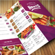 Clean Food Menu 2 - GraphicRiver Item for Sale