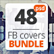 Multipurpose Facebook Covers Bundle 48 PSD - GraphicRiver Item for Sale
