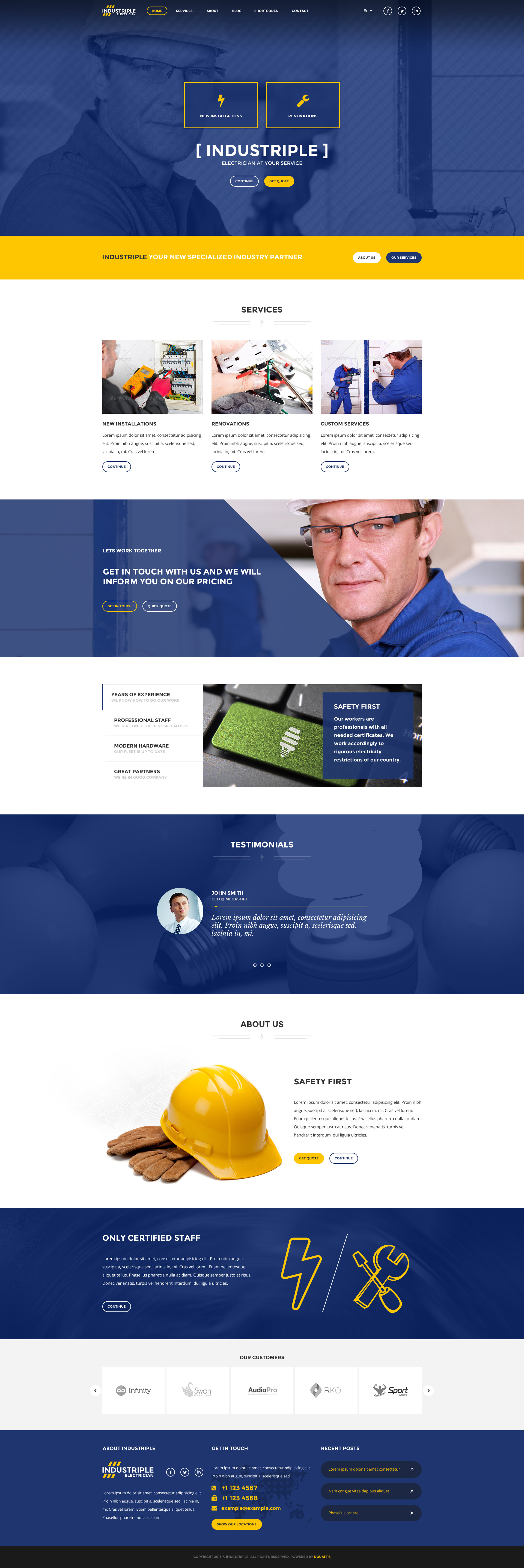 industriple multi industrial template by directorythemes themeforest