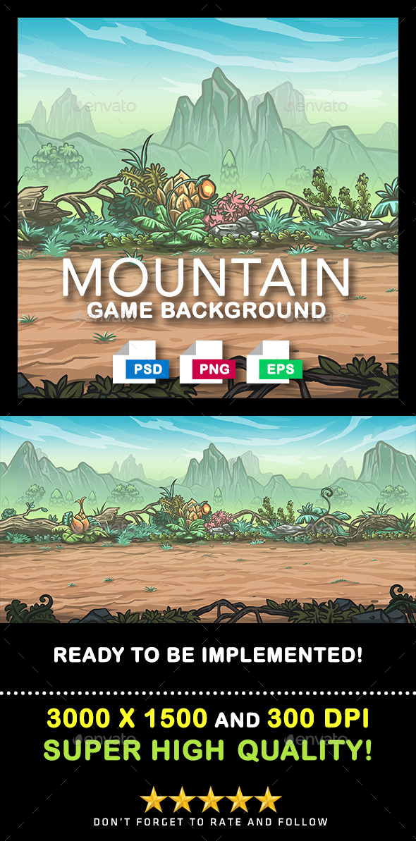 Game Background #3 - Backgrounds Game Assets