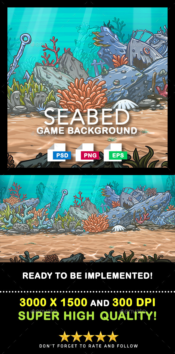 Game Background #4 - Backgrounds Game Assets