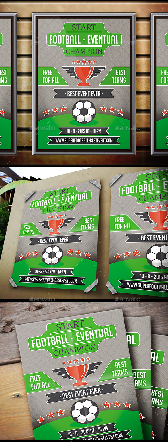 Football Event Flyer - Sports Events