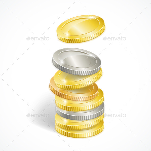Coin Stack - Man-made Objects Objects