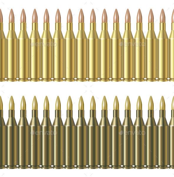 Bullet Pattern Line - Patterns Decorative