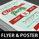 Church Christmas Party Flyer Poster Template - GraphicRiver Item for Sale