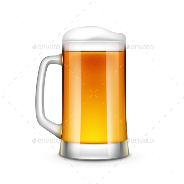 Beer Glass - Food Objects