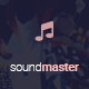 SOUNDMASTER - Music Template (Sites, Bands, DJ's) Nulled