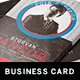 Political Business Card Template - GraphicRiver Item for Sale