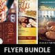 Barbeque Grilling Event Flyer Template Bundle