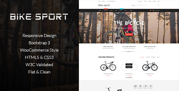 Bike Shop – HTML Shop Template