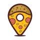 Pin Pizza Logo - GraphicRiver Item for Sale