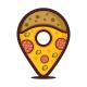 Pin Pizza Logo - GraphicRiver Item for Sale