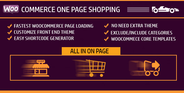 WooCommerce One Page Shopping - CodeCanyon Item for Sale