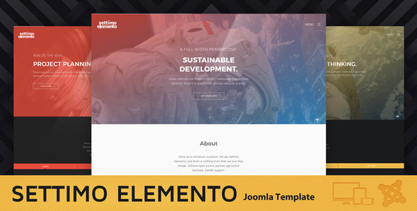 Settimo Elemento – Multi-Purpose Joomla Theme