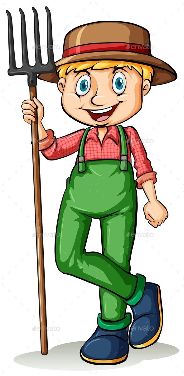 A Gardener - People Characters