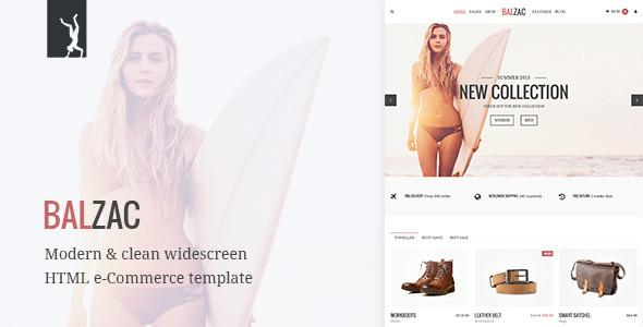 Balzac – Modern eCommerce HTML5/CSS3/UIkit