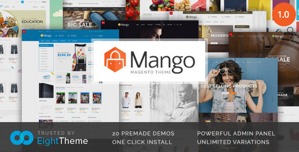 Mango | Responsive Magento Theme