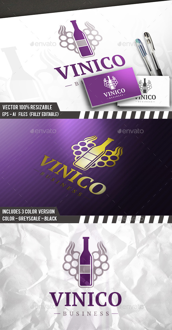 Winery Logo - Food Logo Templates