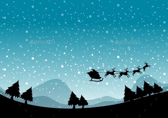 Silhouette Christmas - Christmas Seasons/Holidays