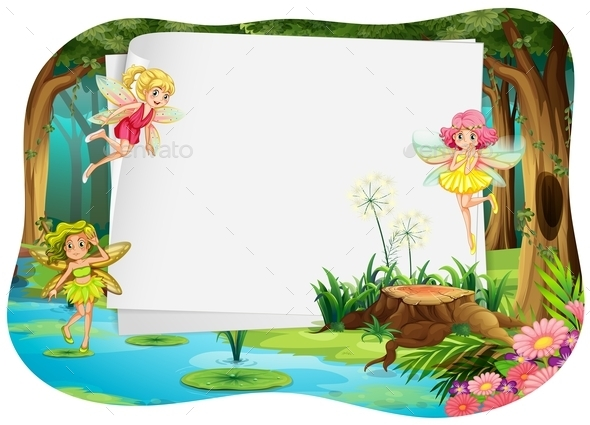 Banner and Fairy - Landscapes Nature