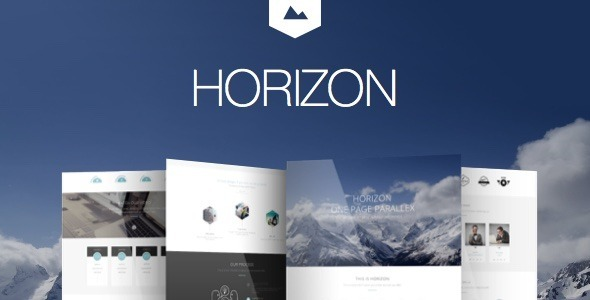 Horizon – Creative One Page Multi-Purpose Retina Theme